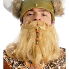 Velké pirátské vousy s knírem