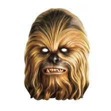 Chewbacca - kartonová maska pro dospělé