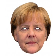 Angela Merkel - kartonová maska pro dospělé