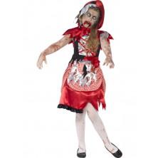 Dětský kostým zombie Karkulky