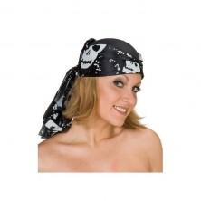 Pirát šátek s filcovou vložkou