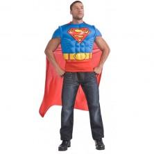 Superman - svalnaté triko s pláštěm - licenční kostým