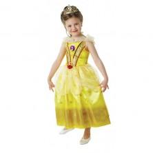 Kostým kráska Bella s flitry - licenční kostým