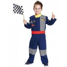 Kostým automobilový závodník