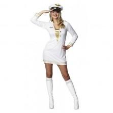 Důstojnické šaty bílé