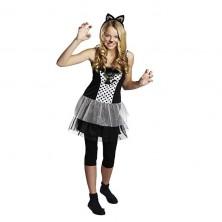 Kočka - šaty (kostým)