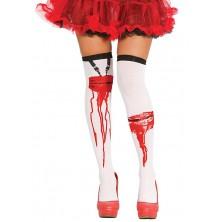 Punčochy s krvavými záseky